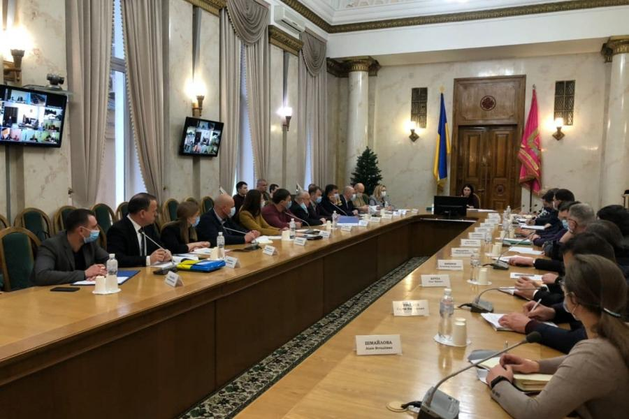 В Харьковской ОГА обсудили вопросы реорганизации районных государственных администраций