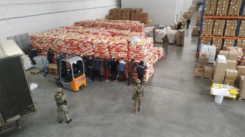 В Харькове и Днепре изъята контрабандная партия морепродуктов стоимостью около 62 млн грн