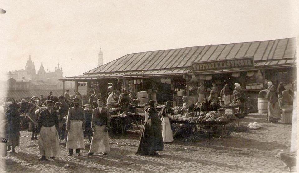 Продавцы Благовещенского базара