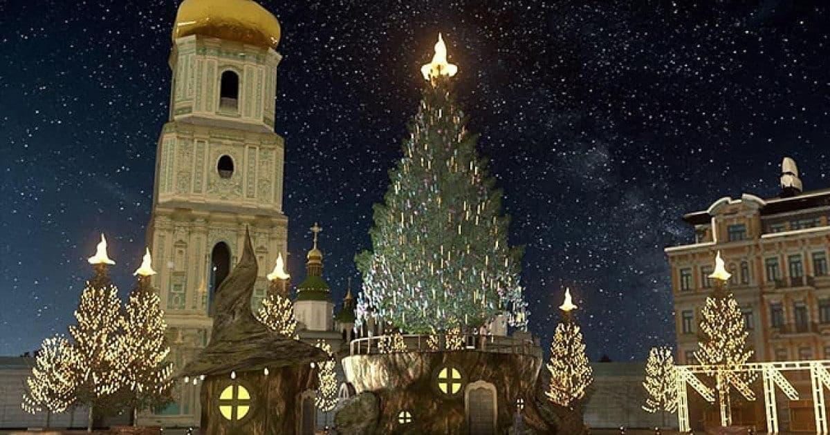 На главной елке страны вместо традиционной звезды установили шляпу из фильма о Гарри Поттере (фото)