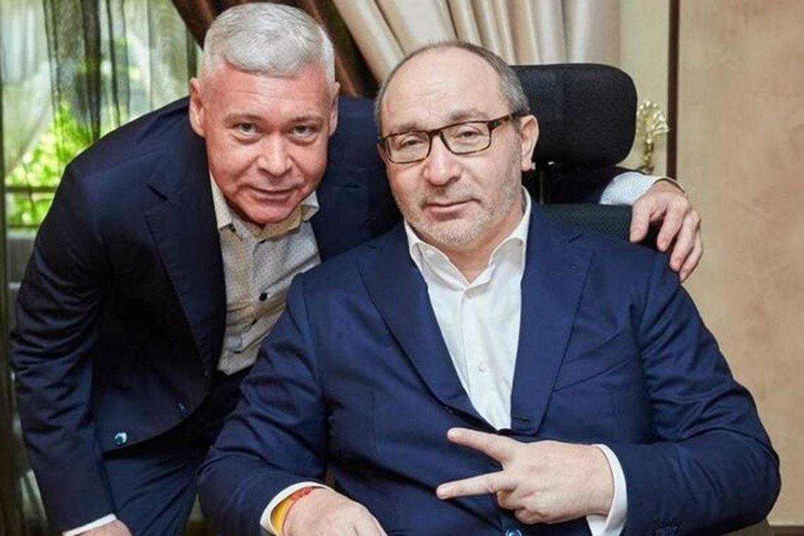 Кернес и Терехов обсудили сессию горсовета и депутатов