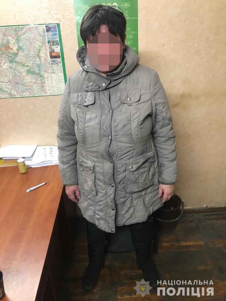 В Харькове полицейские задержали женщину, которая едва не лишила жизни мужчину