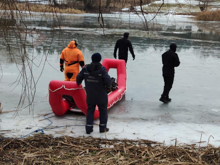 Утонул в Новогоднюю ночь. Спасатели сообщили подробности происшествия (фото)