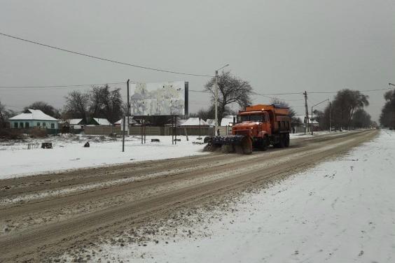Ситуация на дорогах Харьковщины: проезд открыт по основным магистралям