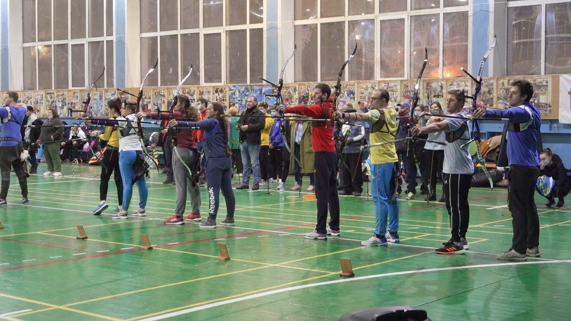 Спортивный год в Харькове стартовал турниром по стрельбе из лука (фото)