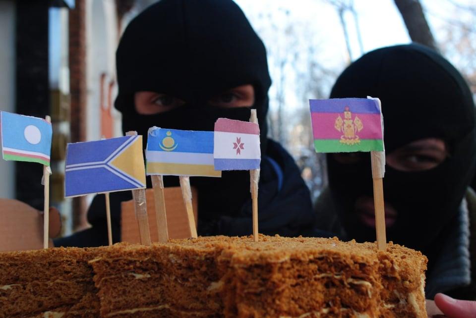 В Харькове прошел протест против аннексии Крыма (фото)