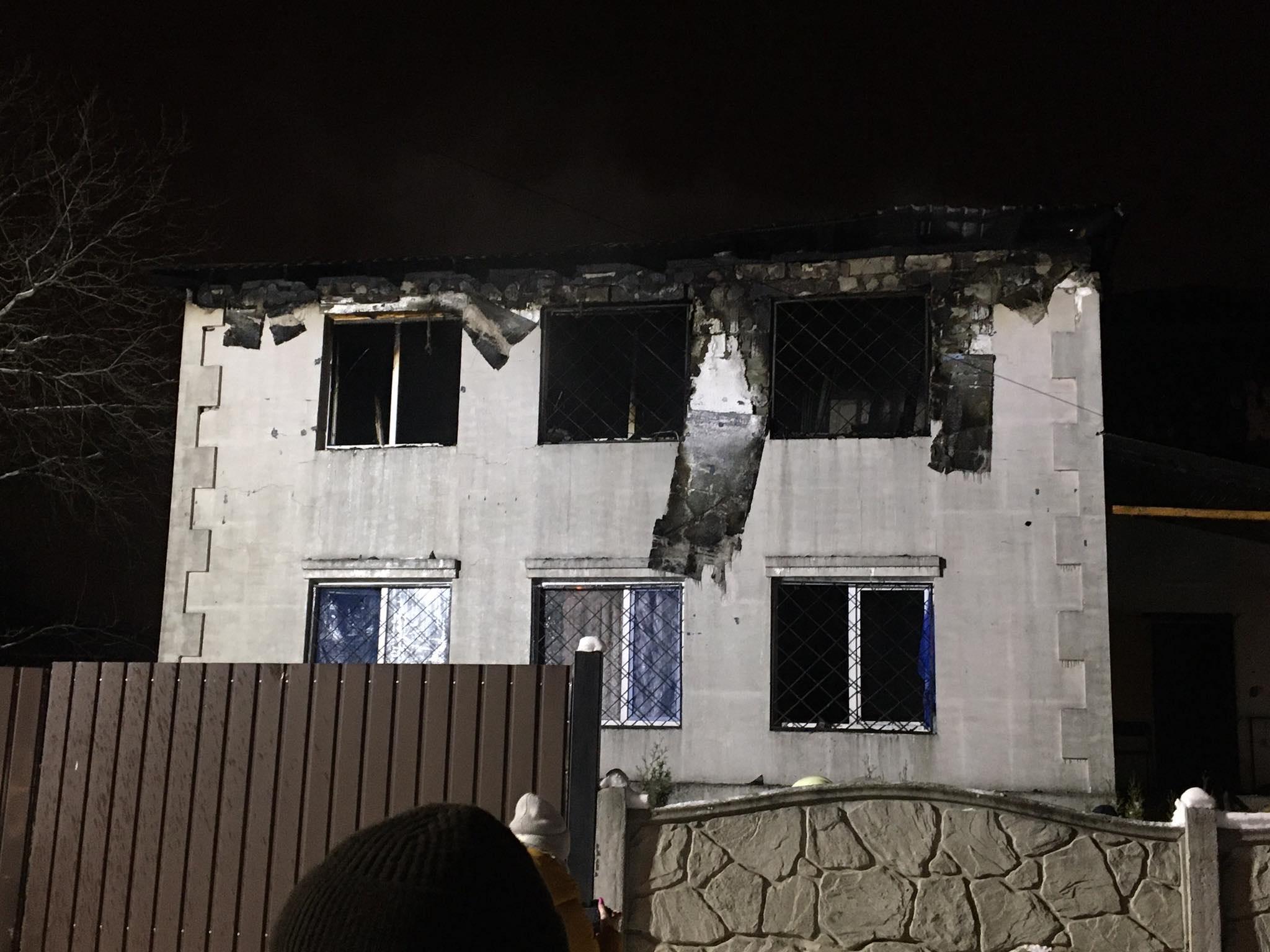 Решетки на окнах сгоревшего дома престарелых – это грубое нарушение – директор департамента соцзащиты ХОГА