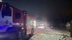 На Харьковщине произошел пожар на территории частного домовладения  (фото)
