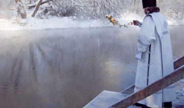19 января из кранов харьковчан будет течь святая вода