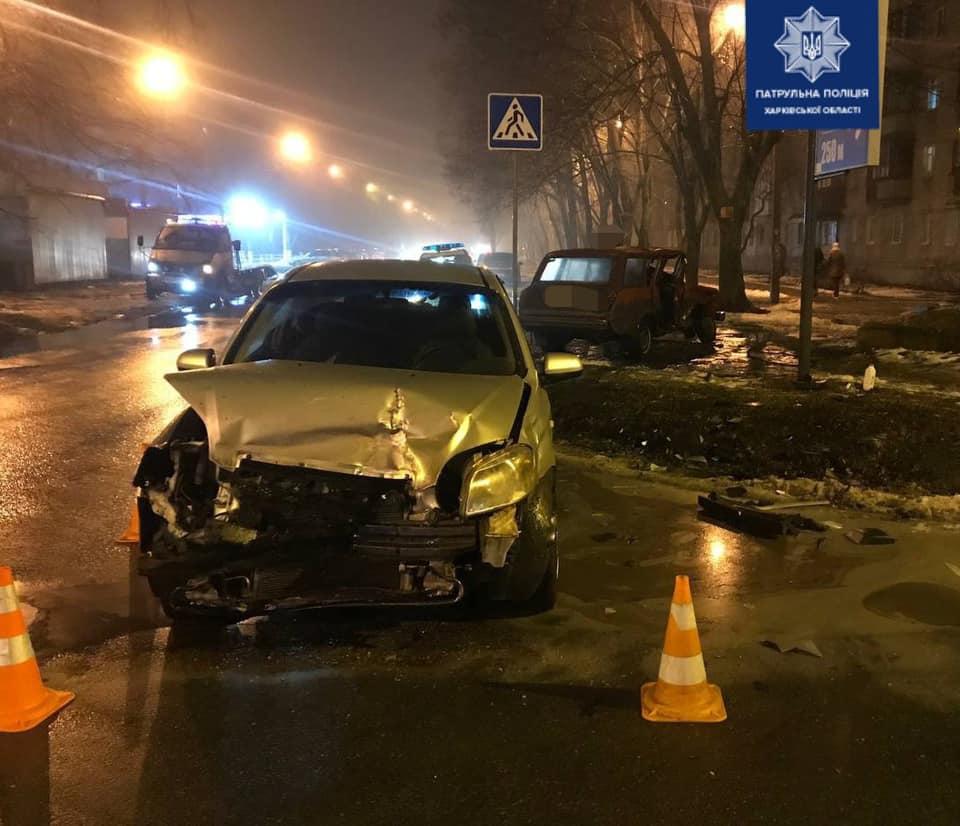 В Харькове в ДТП пострадала женщина (фото)