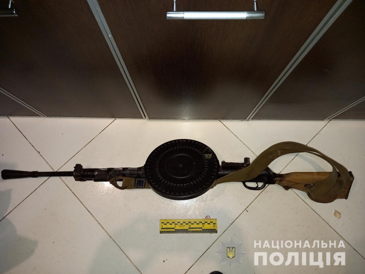 Харьковчанин продавал пулеметы (фото)