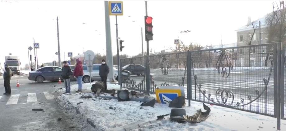 """""""Достаточное количество, которое запрещает управлять автомобилем"""": в момент ДТП на Гагарина водитель KIA был пьян"""