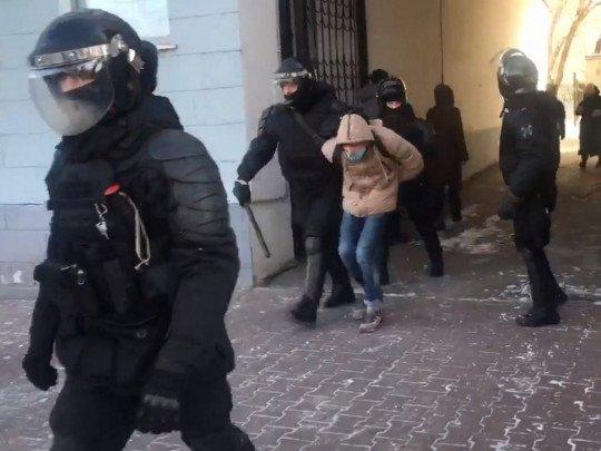 """""""Долой царя"""". В России на 23 января объявлены протестные акции в поддержку Навального (видео)"""