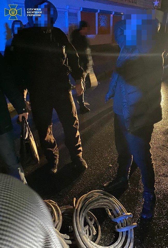 Полицейские на Харьковщине воровали кабель спецсвязи – СБУ