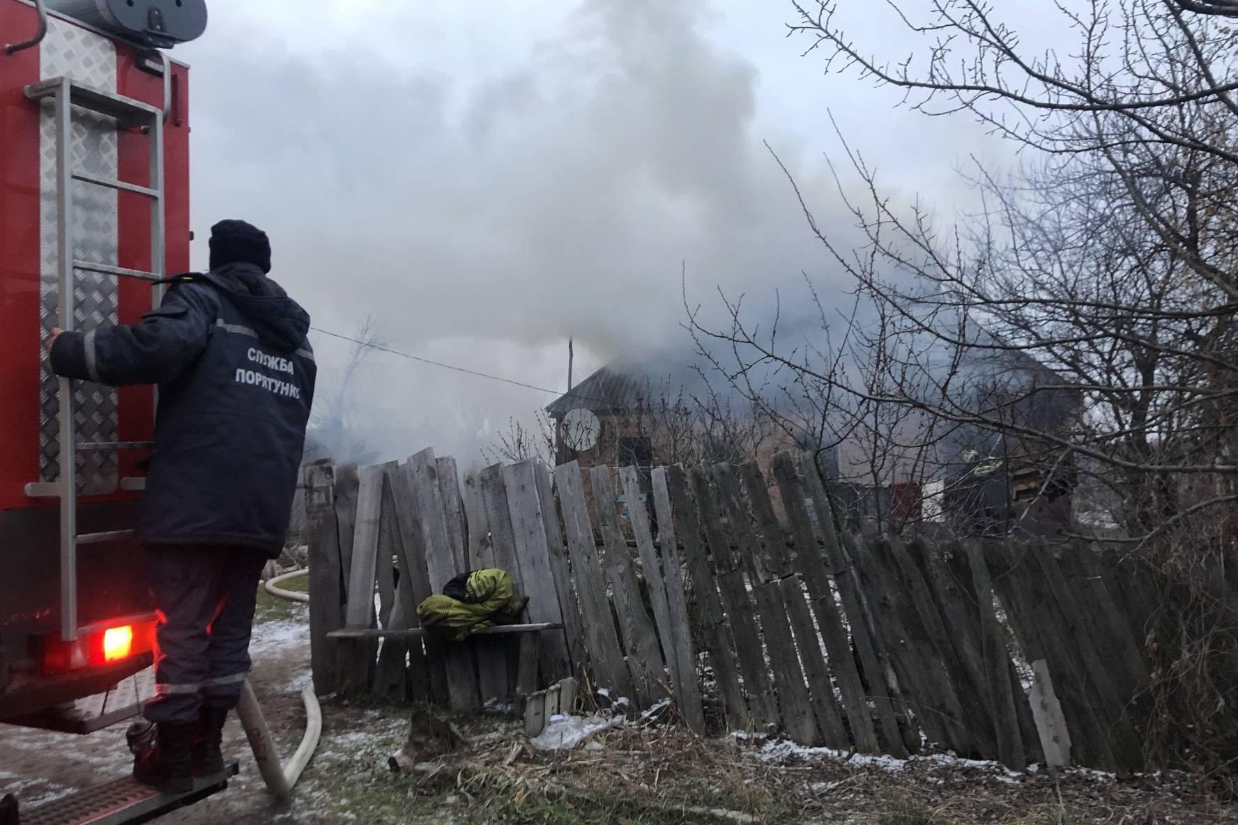 На Харьковщине из-за неисправных печей горят дома (фото)