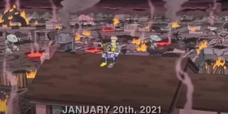 """Как выглядит день инаугурации Байдена в """"Симпсонах"""" (видео)"""
