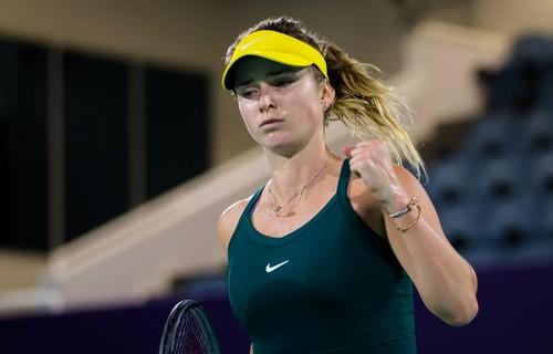 Свитолина не смогла пробиться в полуфинал турнира в Абу-Даби