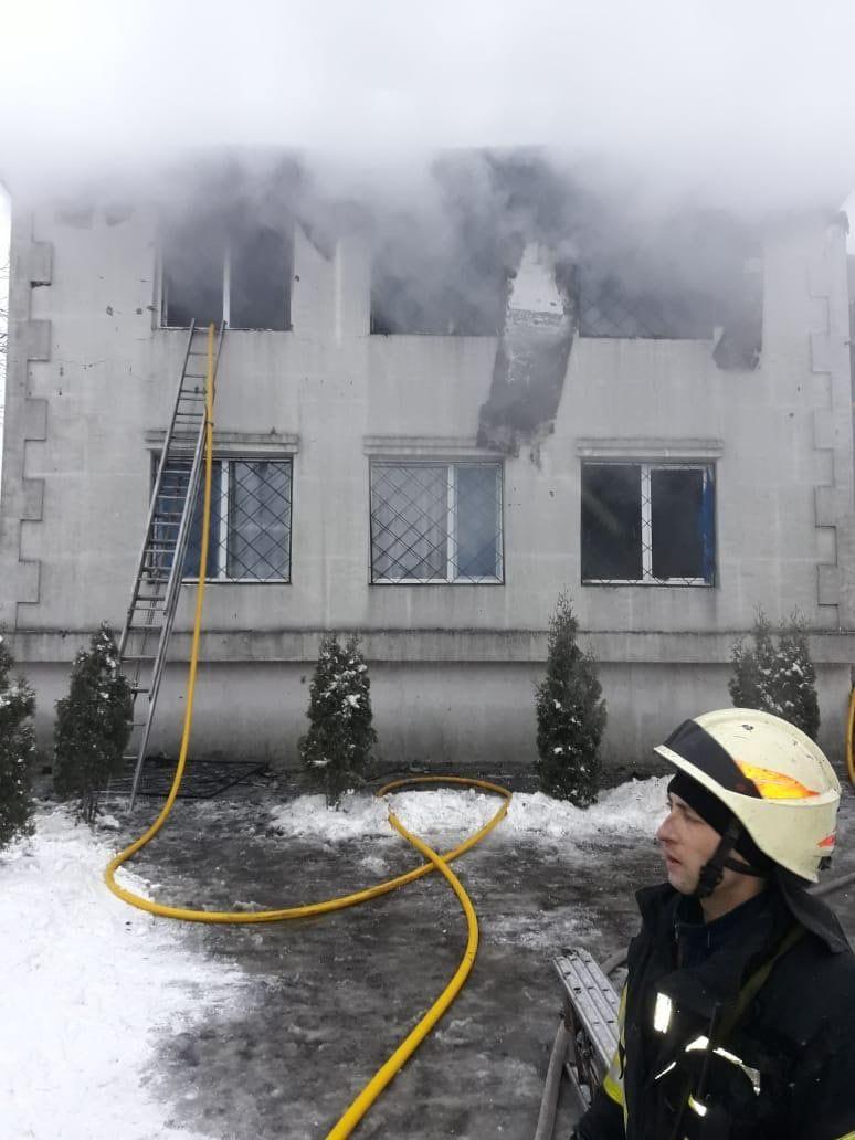 Ирина Венедиктова назвала предварительную причину пожара в доме престарелых (фото)