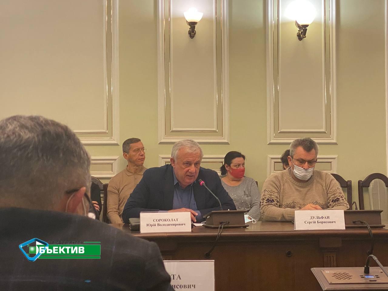 В горздраве сообщили о состоянии пострадавших во время пожара в доме престарелых в  Харькове