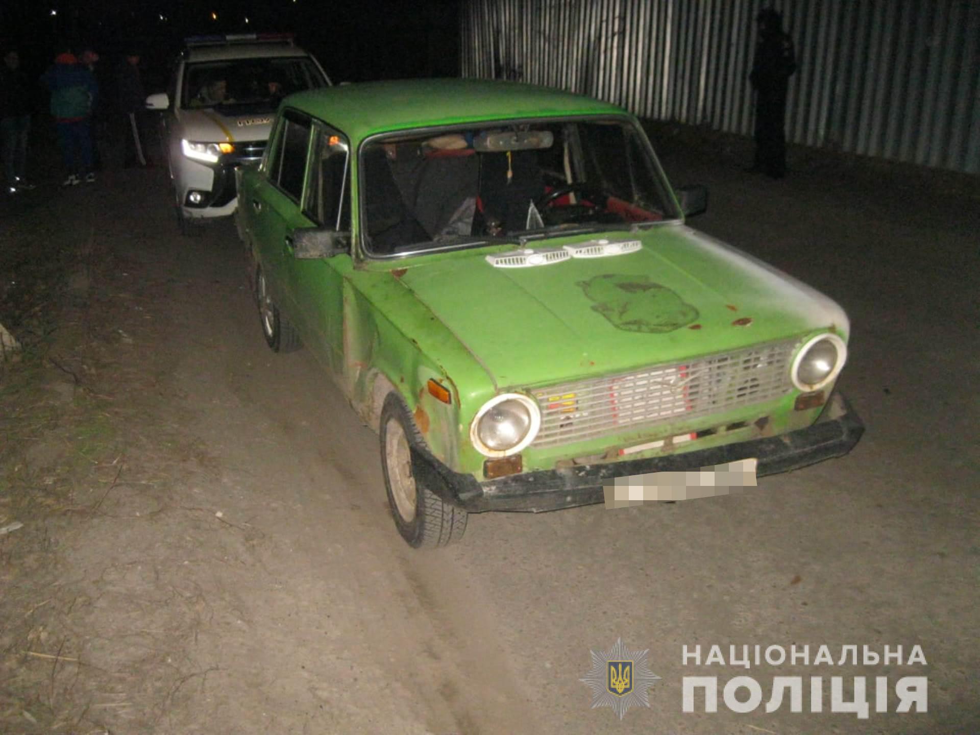 На Харьковщине местные жители помогли полиции задержать угонщика