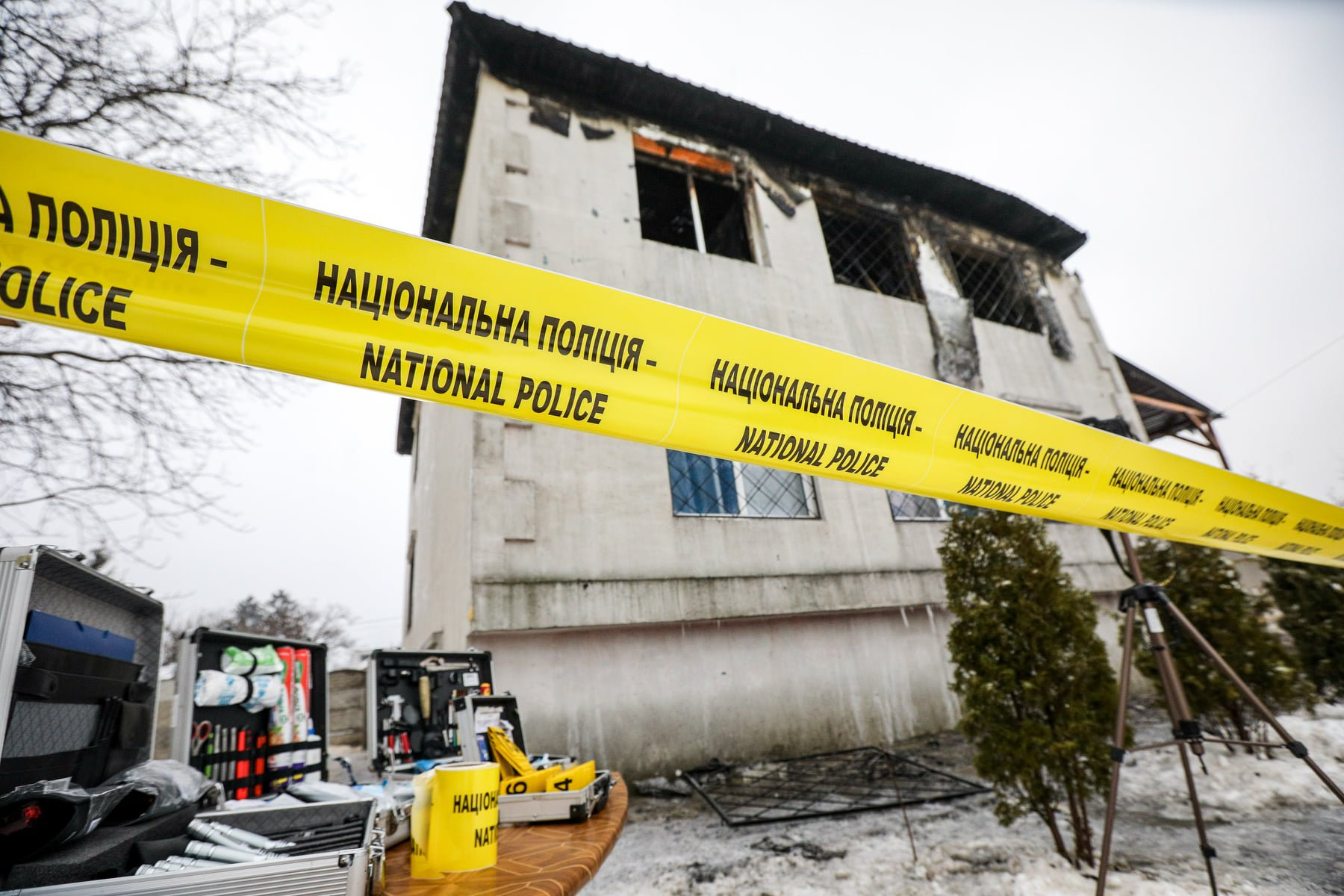 В сгоревшем пансионате в Харькове скончались 9 женщин и 6 мужчин