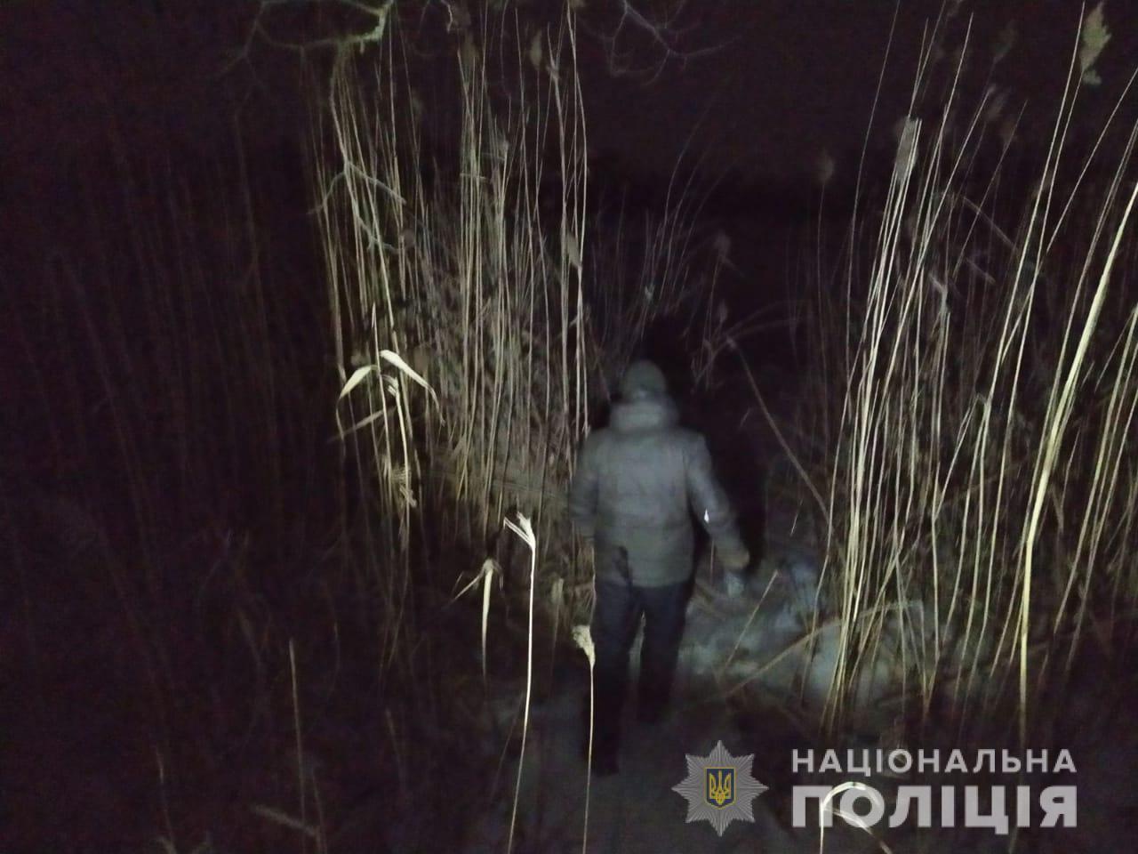 В Харьковской области два рыбака умерли, провалившись под лед (фото)