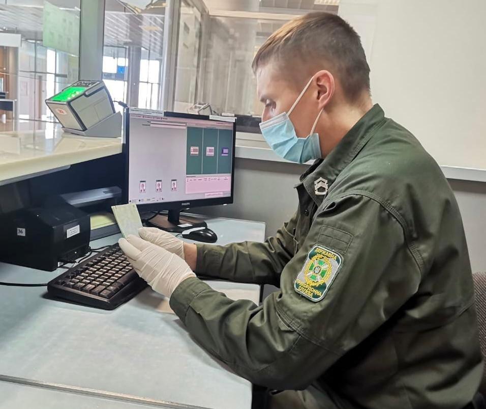 В аэропорту Харькова задержали украинца, находившегося в розыске
