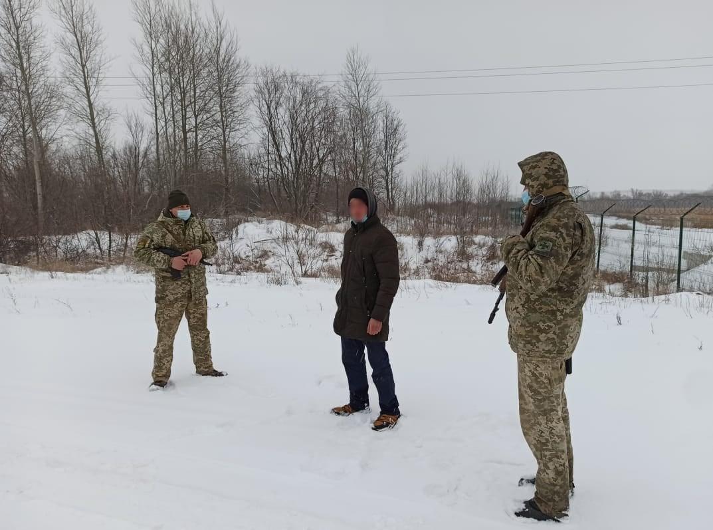 Одессит пытался на Харьковщине нелегально перейти границу