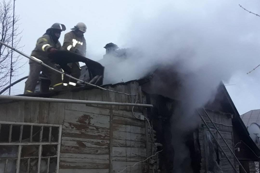 Под Харьковом на пожаре погибла женщина (фото)