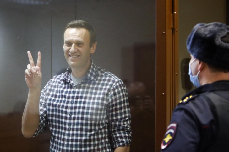 Алексея Навального вывезли из московского СИЗО