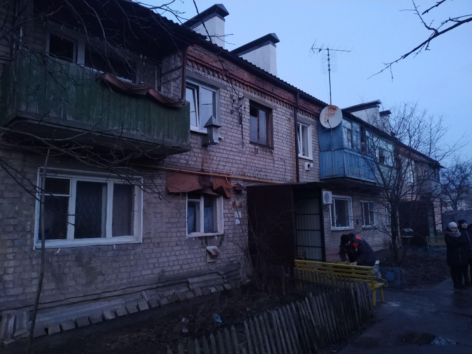 Под Харьковом на пожаре пострадала женщина