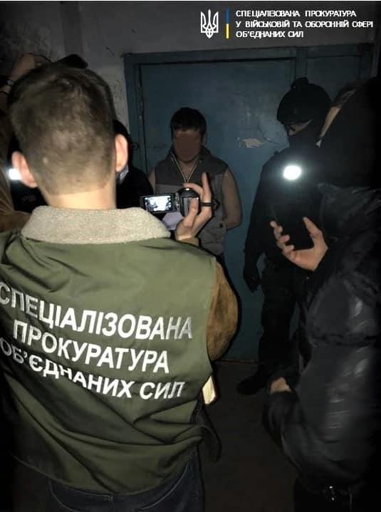 В Харькове задержан сотрудник военной контрразведки СБУ (фото)
