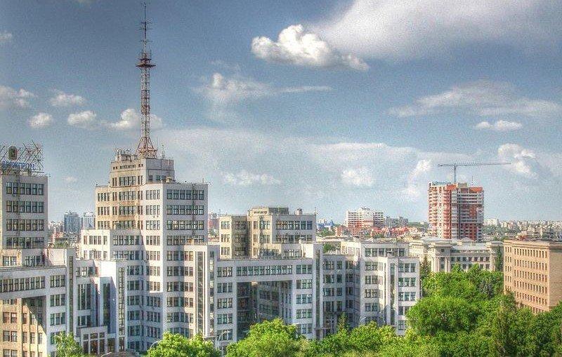 На крыше Госпрома планируется оборудовать смотровую площадку