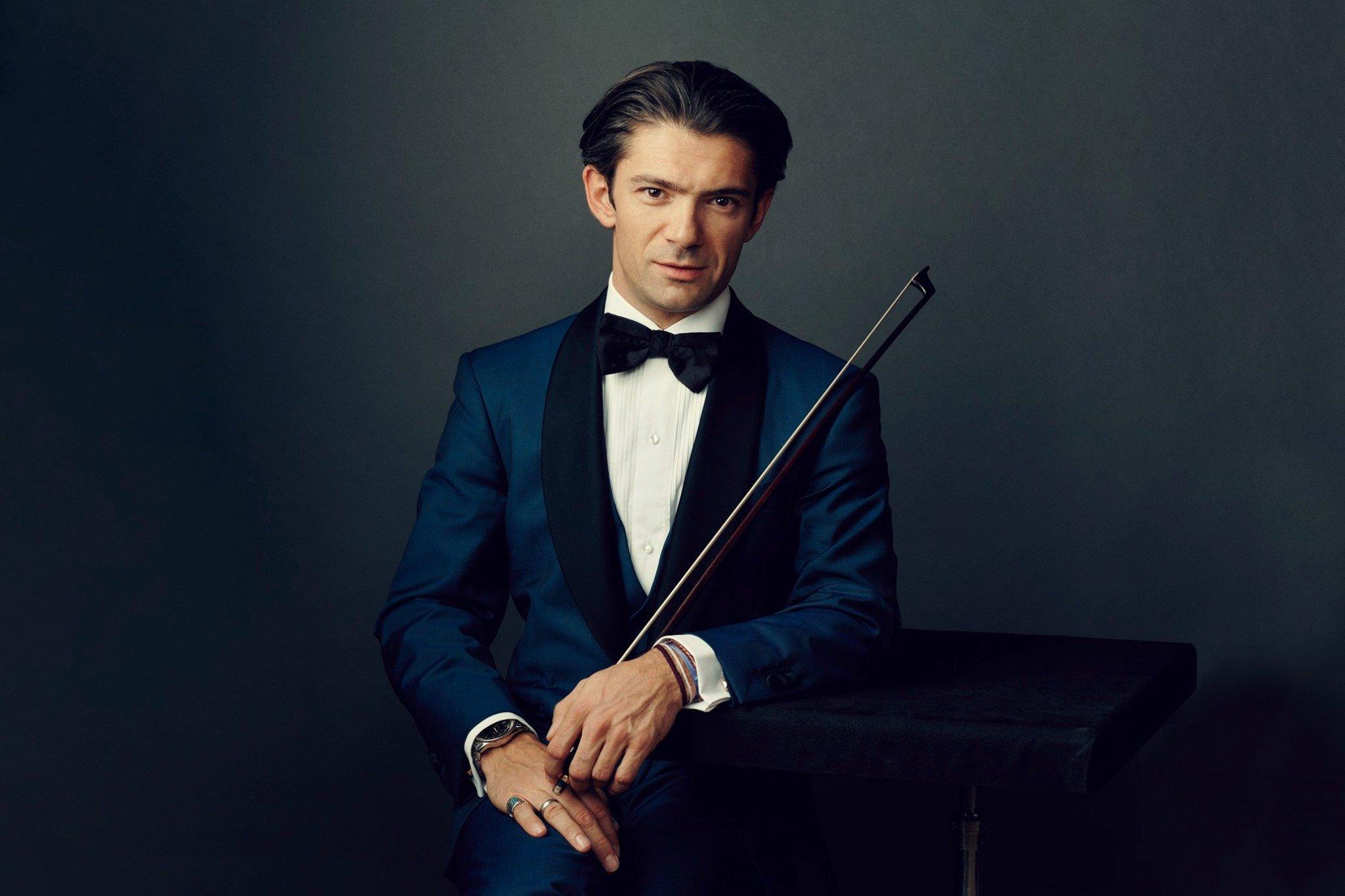 В Харькове выступил всемирно известный французский виолончелист