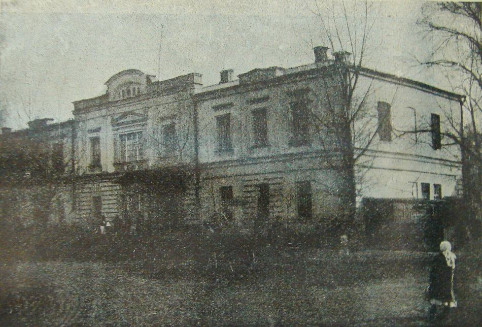 Харьковская губернская психиатрическая больница, или Сабурова дача, до сих пор известная как «пятнадцатая», хотя нынешний её номер третий