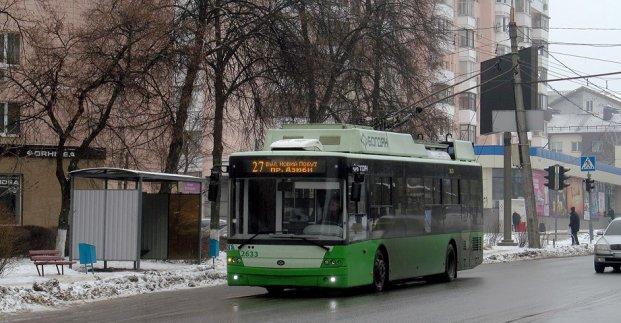Харьковский общественный транспорт изменит маршрут движения