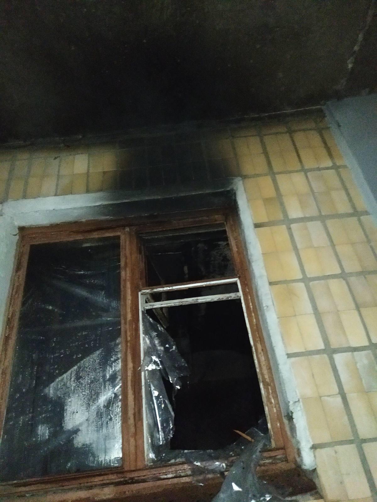В Красноградском районе во время пожара эвакуированы 6 людей