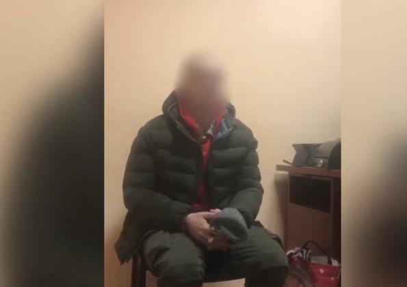 Пограничники совместно с СБУ задержали двух боевиков незаконных вооруженных формирований (видео, фото)