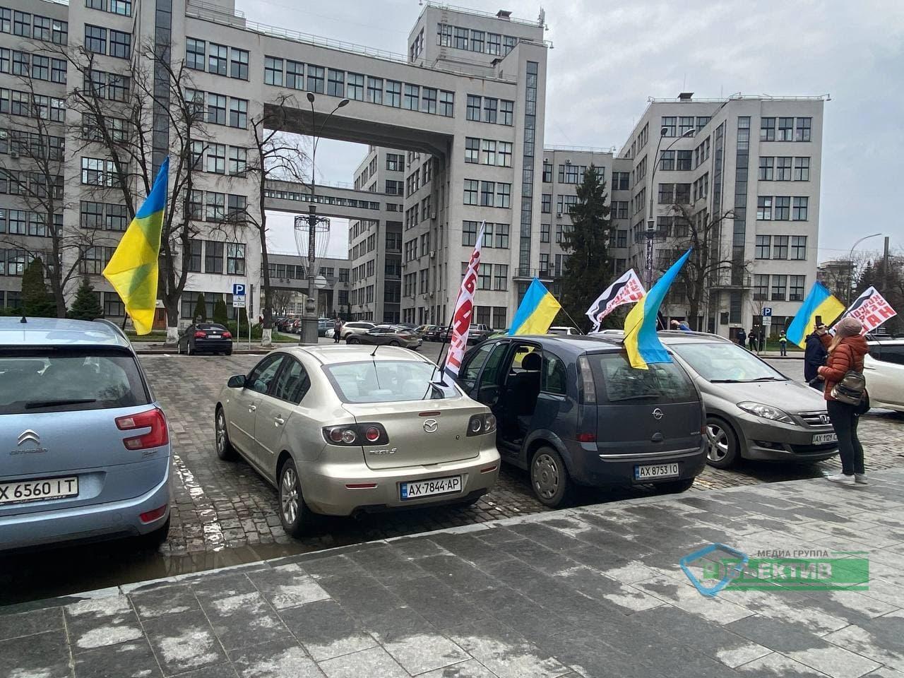 """Противники """"коксохима"""" вышли на пикет на площадь Свободы (фото)"""
