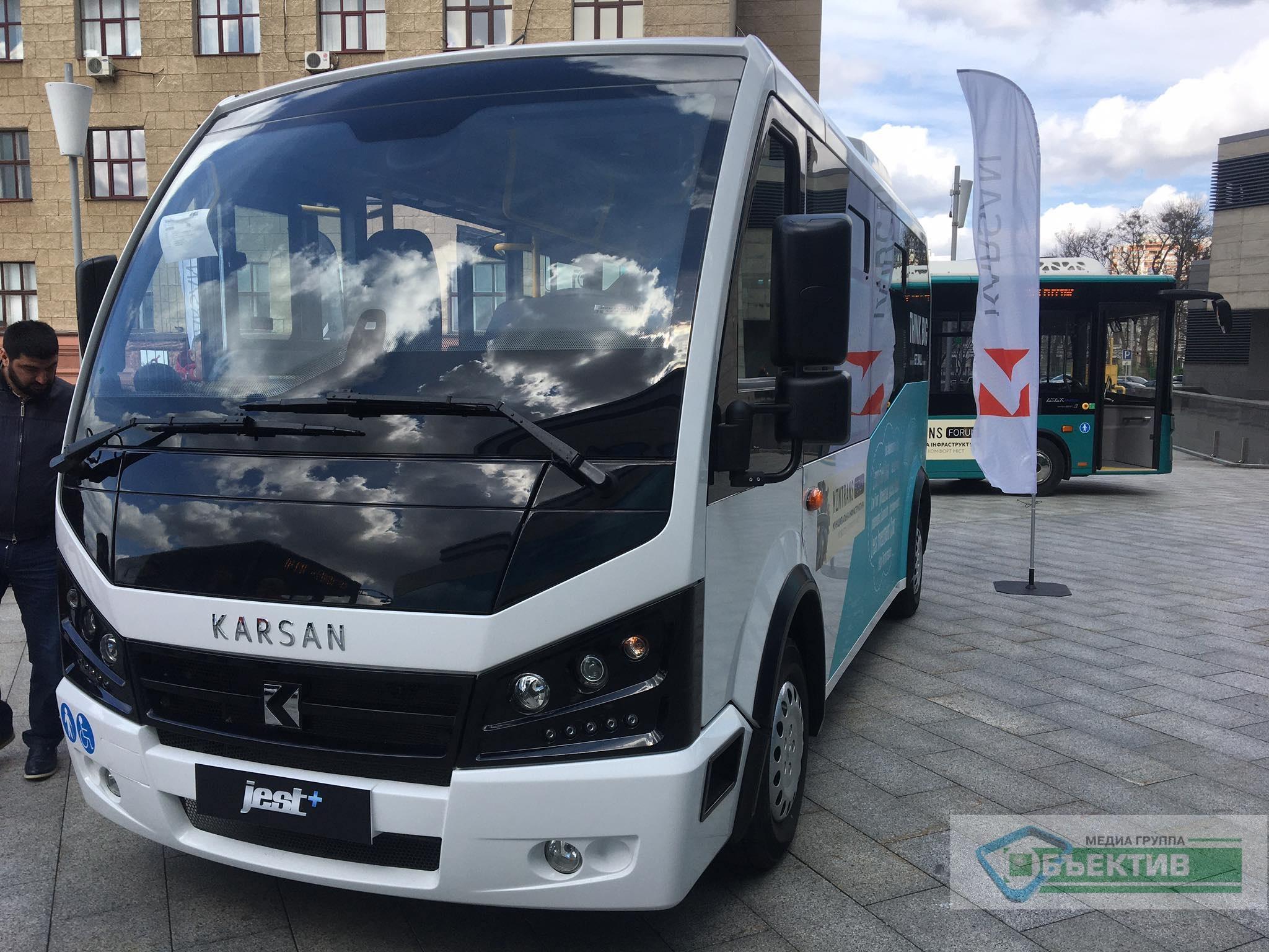 В этом году на харьковские маршруты выйдут 150 турецких автобусов (фото)