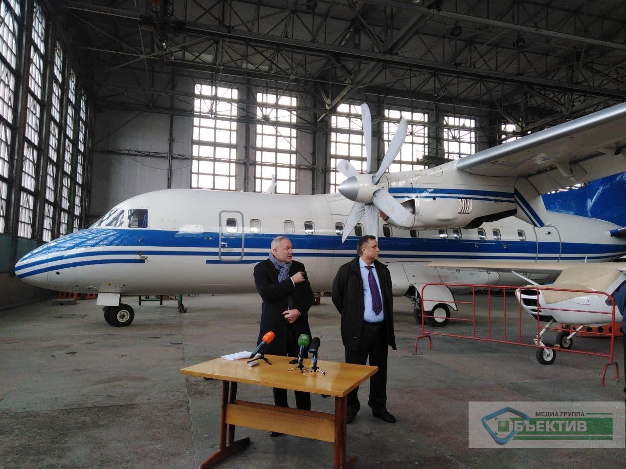 Нового директора Харьковского авиазавода озадачили поиском инвесторов (фото, видео)