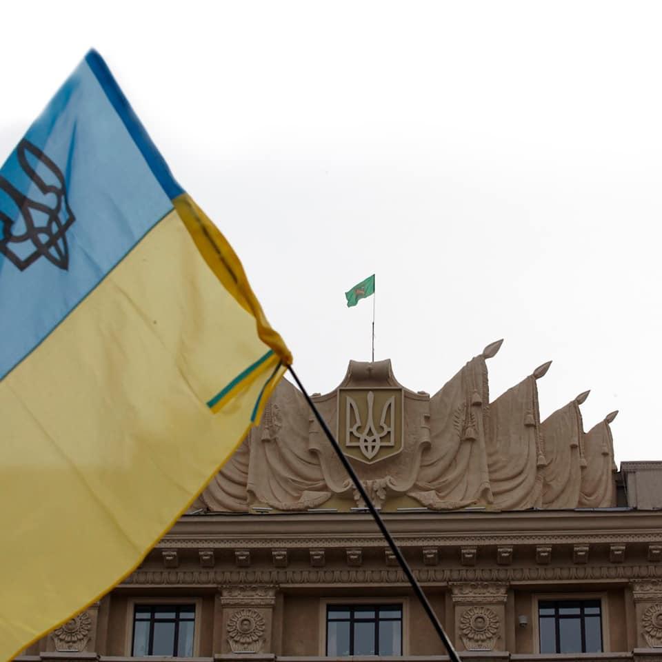 7 лет назад освободили от сепаратистов здание Харьковской облгосадминистрации (фото)
