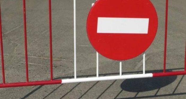 По улице Рыжевской на полтора месяца запрещается движение транспорта