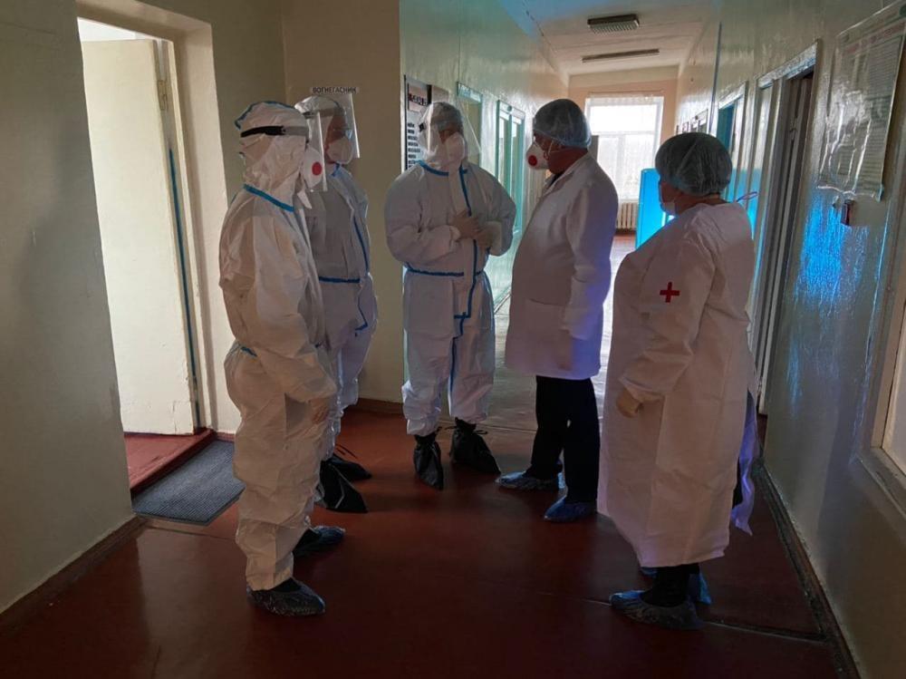 В одной из опорных больниц Харьковской области заявили об отсутствии свободных мест