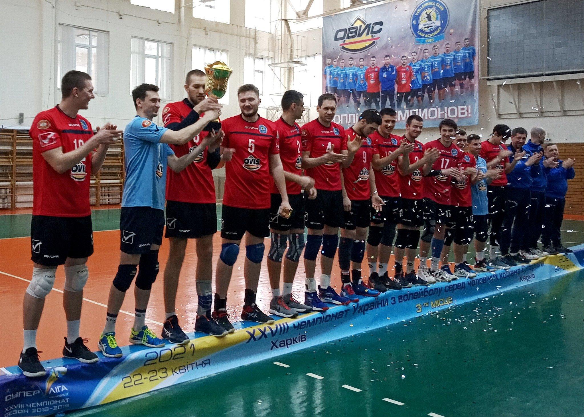 Определились медалисты мужской волейбольной Суперлиги (фото) | Первая Столица Харьков