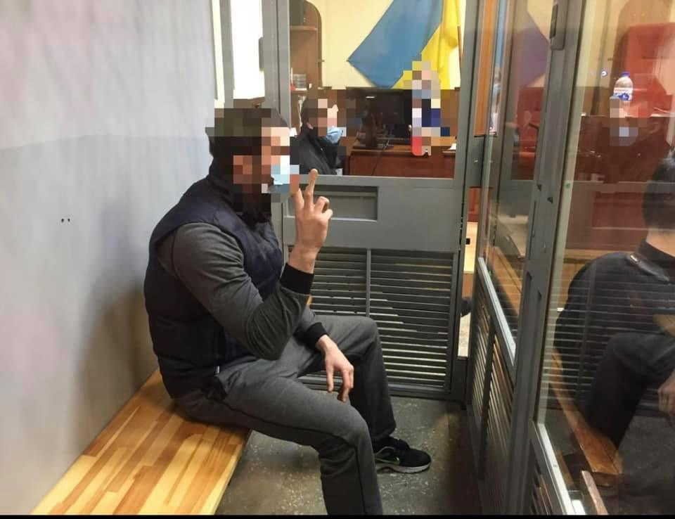 """Все пять вымогателей – """"залютинских"""" арестованы без права внесения залога (фото)"""