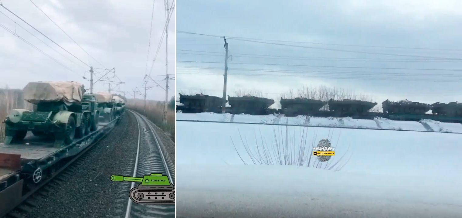 Россия стягивает войска к границам Украины (видео)