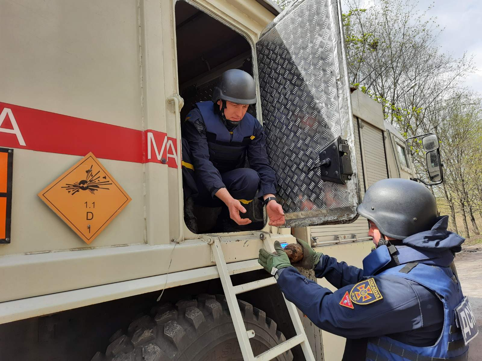За сутки в Харьковской области обезвредили 5 боеприпасов (фото)