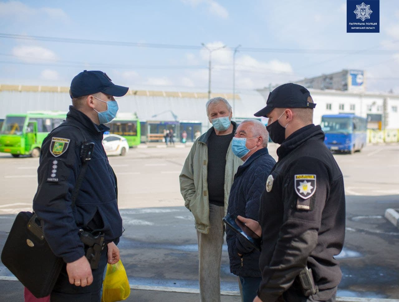 В Харькове полиция проверяет автоперевозчиков (фото)