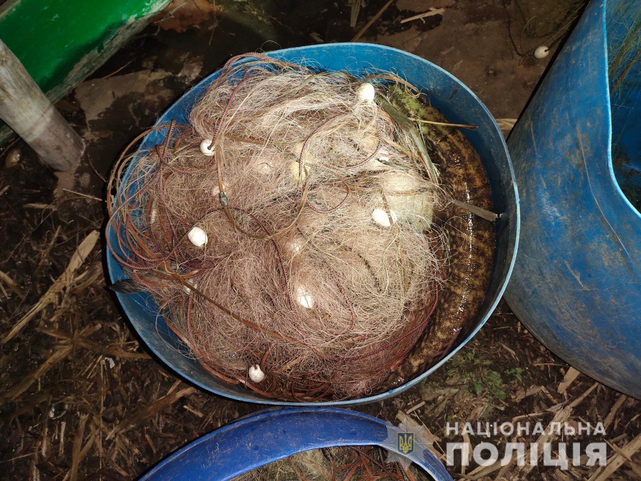 Полиция на Харьковщине задержала браконьеров (фото)